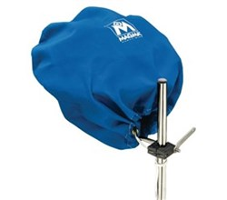 Bags and Covers magma grill cover party size pacific blue