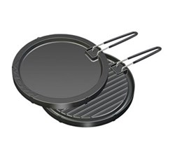 Cookware magma two sided round non stick griddle