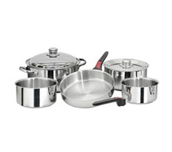 Cookware magma nesting 10 piece cookware