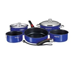 Cookware magma nesting 10 piece non stick cookware